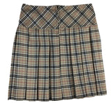Mid-Length Burberry Tartan Skirt with Buttons & Zip - Skirts -  - Best In Scotland - 2