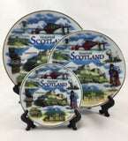 Collectible Ceramic Historical Scotland Plates -  -  - Best In Scotland - 1