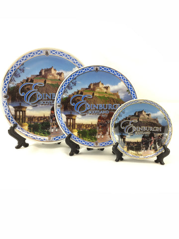 Copy of Collectible Ceramic Historical Scotland Plates -  -  - Best In Scotland - 1