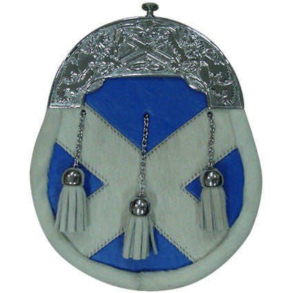 Saltire Sporran - Accessories -  - Best In Scotland