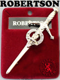 Clan Kilt Pin - Accessories - Robertson - Best In Scotland - 13