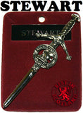Clan Kilt Pin - Accessories - Stewart - Best In Scotland - 1