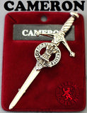 Clan Kilt Pin - Accessories - Cameron - Best In Scotland - 2