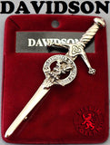 Clan Kilt Pin - Accessories - Davidson - Best In Scotland - 4