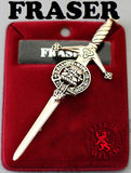 Clan Kilt Pin - Accessories - Fraser - Best In Scotland - 5