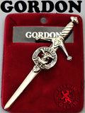Clan Kilt Pin - Accessories - Gordon - Best In Scotland - 6