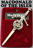 Clan Kilt Pin - Accessories - MacDonald Of The Isles - Best In Scotland - 8