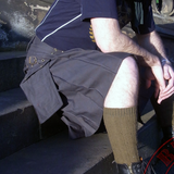Mens' Snap Button Grey Utility Kilt - Utility Kilts -  - Best In Scotland - 3