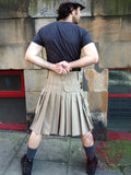 Mens' Snap Button Khaki Utility Kilt - Utility Kilts -  - Best In Scotland - 2