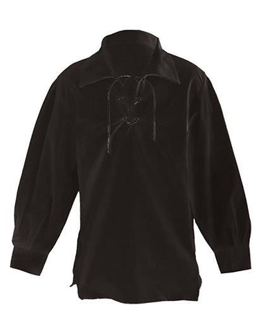 Black Ghillie Shirt - Shirts -  - Best In Scotland