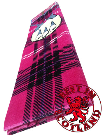 Pink Novelty Kilt Towel - Gifts - Pink - Best In Scotland