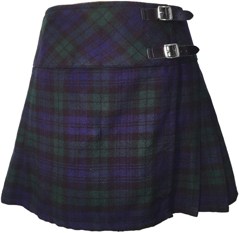 Black Watch Ladies Winter Billie Skirt - Skirts -  - Best In Scotland - 1