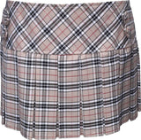 Burberry Tartan Skirt With 4 Buttons - Skirts -  - Best In Scotland - 1