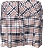 Skirts - Burberry Tartan Skirt With 4 Buttons