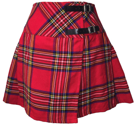 Royal Stewart Ladies Winter Billie Skirt - Skirts -  - Best In Scotland - 1