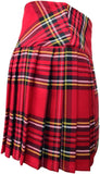 Ladies Royal Stewart Red Tartan Billie Kilt - Mid-Length Skirt - Skirts -  - Best In Scotland - 3