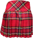 Ladies Royal Stewart Red Tartan Billie Kilt - Mid-Length Skirt - Skirts -  - Best In Scotland - 4
