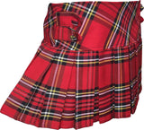 Royal Stewart Tartan Skirt With 4 Buttons - Skirts -  - Best In Scotland - 2