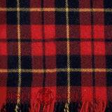 Tartan Blanket - Throws - Wallace (Red & Black) - Best In Scotland - 3