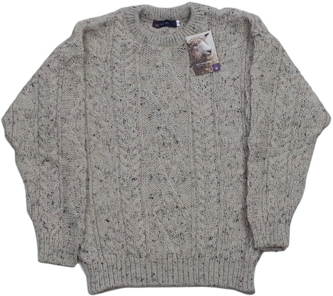 Biscuit Wool Aran Jumpers - Jumper, Shirts and Jackets -  - Best In Scotland - 1