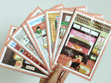 Scenes of Teochew - 3D Postcard: Lantern-Making 潮汕立体明信片: 写灯笼 - The Teochew Store 潮舖 - 2