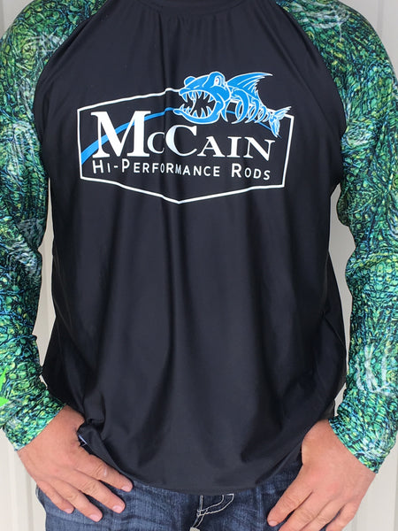 MHP Long Sleeve Fishing Shirts/ Black Xotic