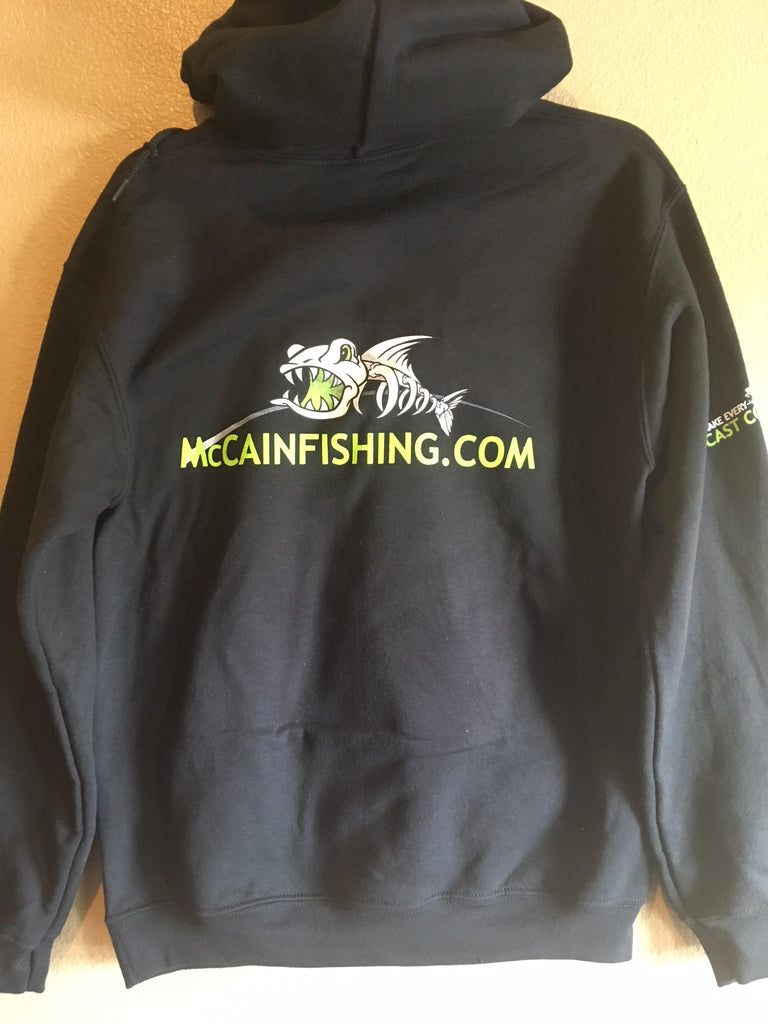 MHP Long Sleeve Fishing Hoodies/ Black