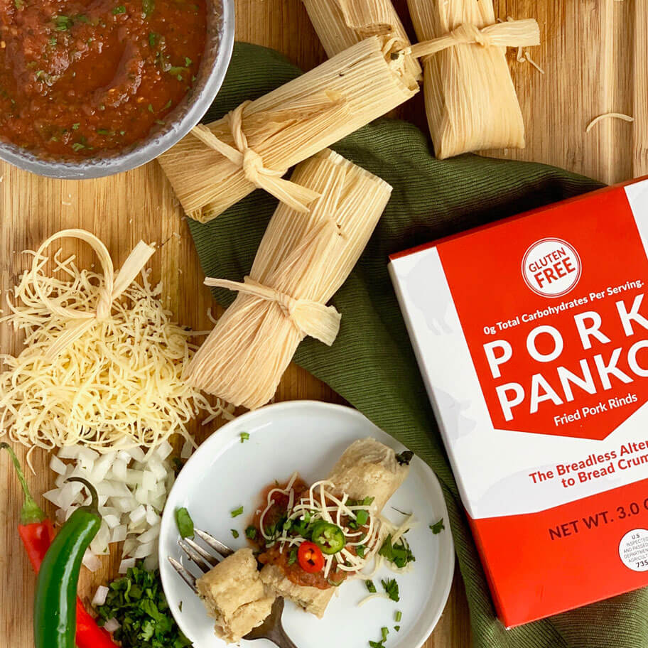Low Carb Instant Pot Tamales With Pork Panko Masa Bacon S Heir