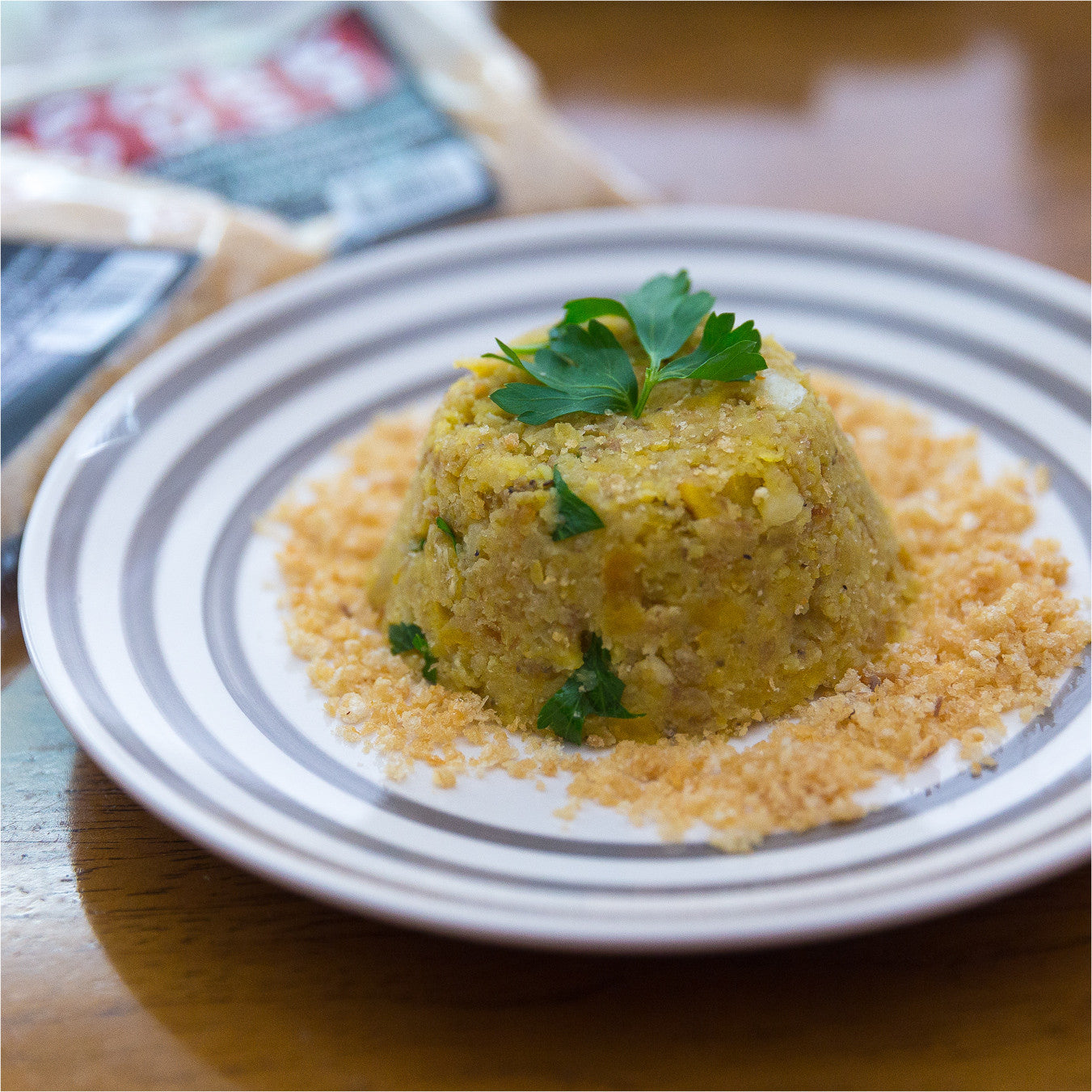 Mofongo with Pork Dust