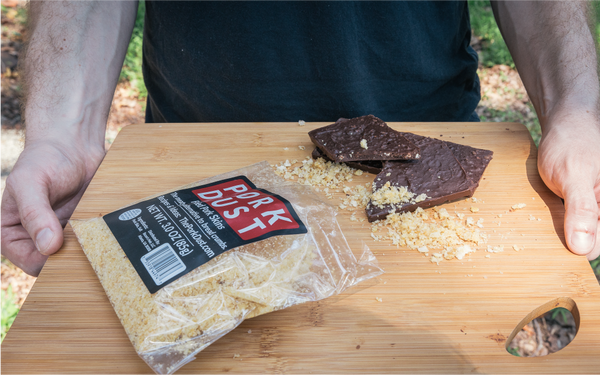 Pork Rind Dark Chocolate