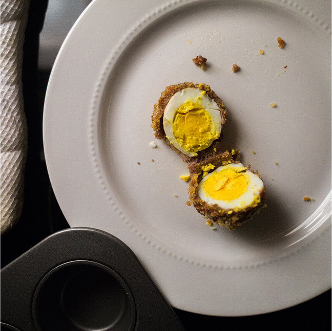 Pork Panko'd Scotch Eggs