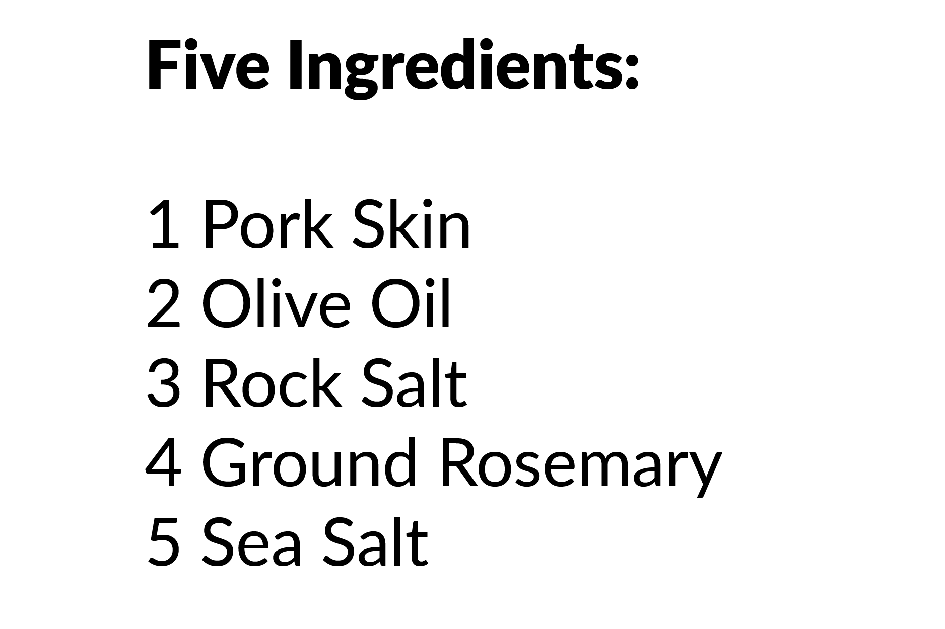 rosemary ingredients