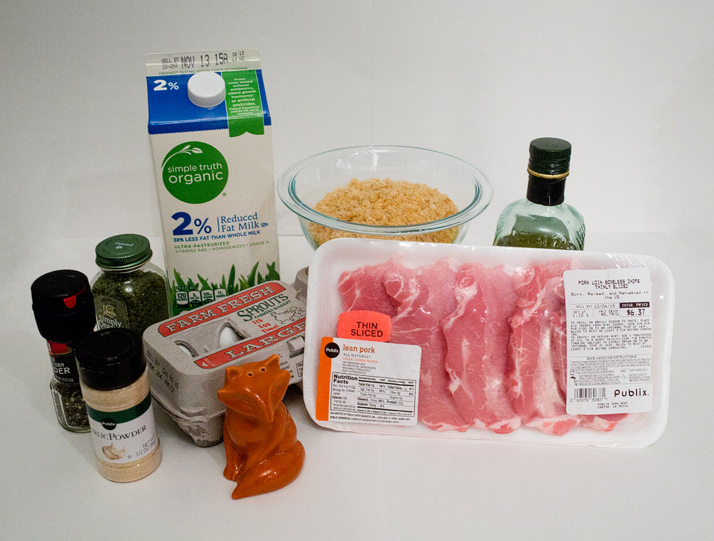 Pork Rind Pork Schnitzel Ingredients