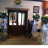 Bay Trees collect and return hire - Wedding Sparkle