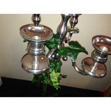 Candelabra with Ivy collect and return hire - Wedding Sparkle - wedding - event - hire