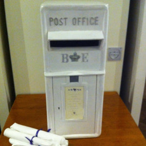 Wedding Post Box hire Ivory - Wedding Sparkle - wedding - event - hire