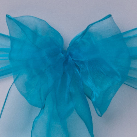 Table Runner Aqua Blue - Wedding Sparkle - wedding - event - hire
