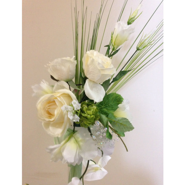 Lily Vase & Flowers - Wedding Sparkle - wedding - event - hire