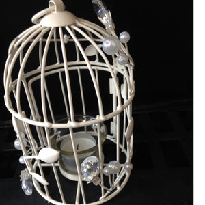 Candle - Birdcage Vintage Crystal for collect and return hire - Wedding Sparkle - wedding - event - hire