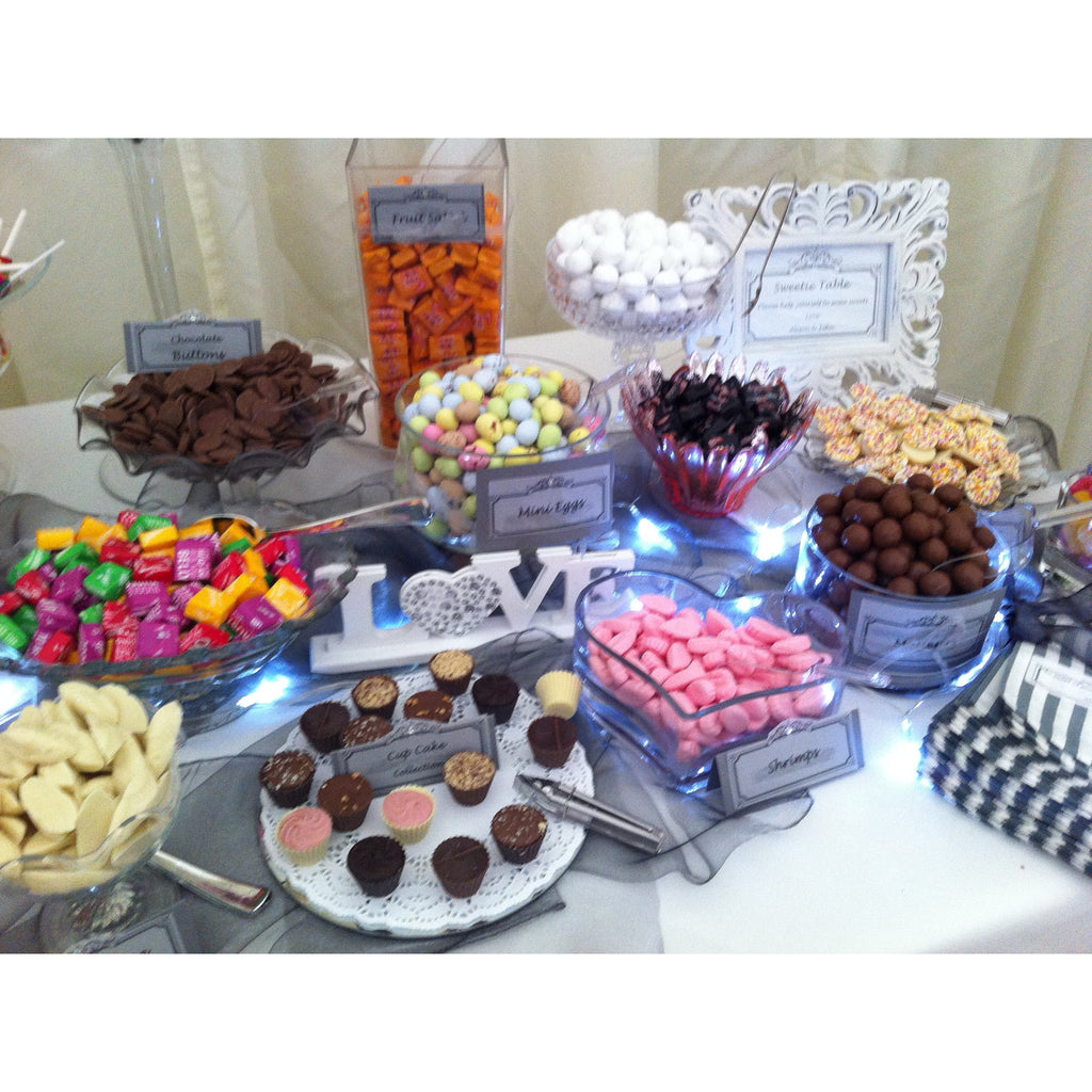 Sweets & Candy Table - Wedding Sparkle - wedding - event - hire