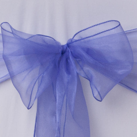 Deep Purple organza sash collect and return hire - Wedding Sparkle - wedding - event - hire