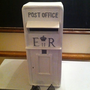 Wedding Post Box hire Ivory  E:R - Wedding Sparkle - wedding - event - hire