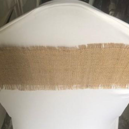 Hessian chair band collect and return hire