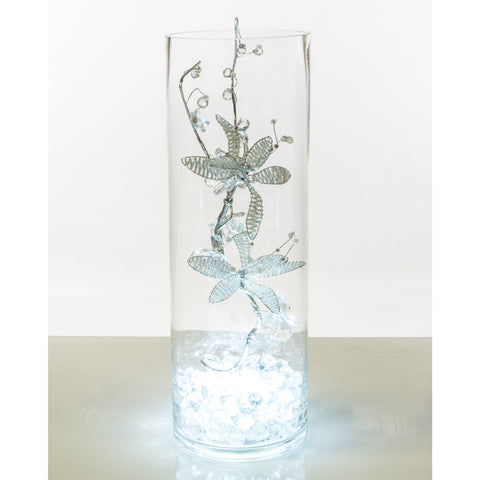 Sparkle Tube Vase - Wedding Sparkle - wedding - event - hire