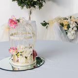 Wedding Package Cream Vintage Birdcage Centerpeice - Wedding Sparkle - wedding - event - hire