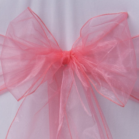 Coral sash collect and return hire - Wedding Sparkle - wedding - event - hire