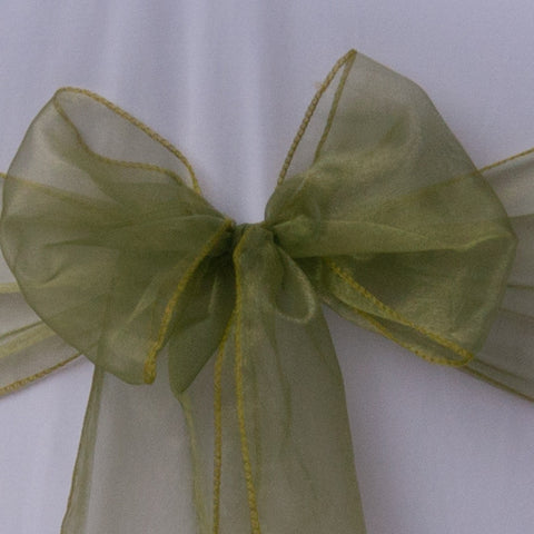 Forest green organza sash - Wedding Sparkle - wedding - event - hire