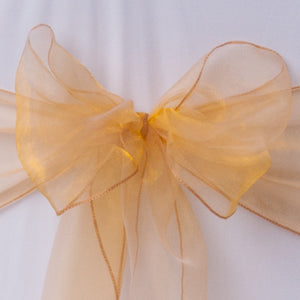 Gold organza  Table Runner - Wedding Sparkle - wedding - event - hire