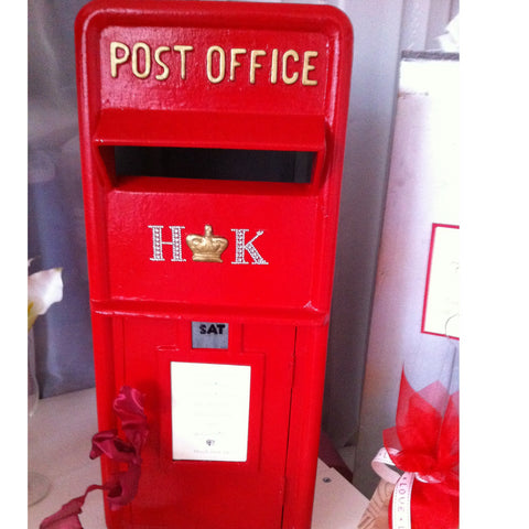 Wedding Post Box hire Red - Wedding Sparkle - wedding - event - hire