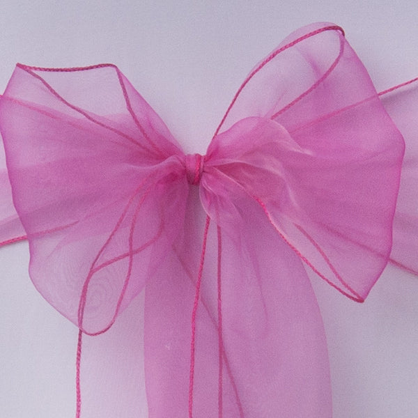 Rose pink organza Table Runner - Wedding Sparkle - wedding - event - hire